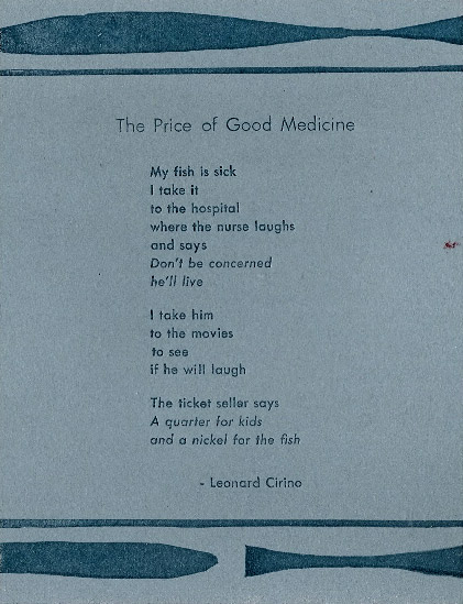 The Price of Good Medicine