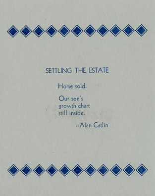 SETTLING THE ESTATE